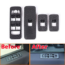 ABS Window Lift Switch Button Cover Trim For Land Rover Discovery Sport 15-17