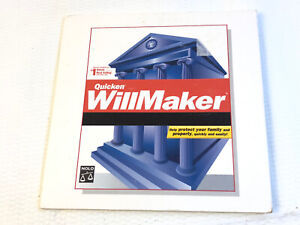 Quicken WILLMAKER 2003 Version 3 Estate Planning Nolo Will Maker CDRom XP ME