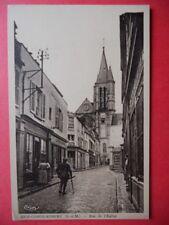 BRIE-COMTE-ROBERT  :  La Rue de l'Église.