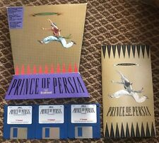 Prince of Persia 1994 Jordan Mechner VERY RARE MAC Big Box Floppy FREE SHIPPING!