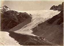 Photo Albuminé Montagne Wienberger Tyrol Vers 1880