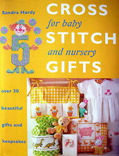 Hard Backed Book - CROSS STITCH GIFTS for baby and nursery - designs charts etc