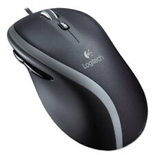 Logitech M500 Corded Mouse Three-Button/Scroll Black/Silver 910001204