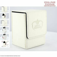 Ultimate Guard FLIP DECK CASE 80+ STANDARD SIZE LEATHERETTE - WHITE