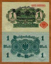 Germany, 1 Mark, 1914, P-50, UNC