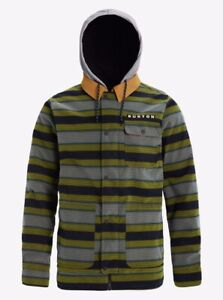 Burton Dunmore JacketMaize Sap Stripe XXL