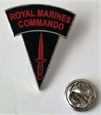 Royal Marines Commando Shoulder Flash & Dagger lapel pin badge