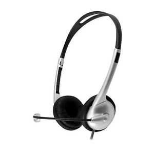 Hamilton Buhl MACH-1C Stereo Headset Over-the-Head Black M1USBC Work Headphones