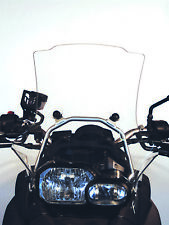 Viento escudo original en perchas sujeción bmw f650gs +f800gs, windshield screen, toro