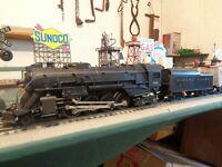 """Lionel Postwar 736 Steam Loco Berkshire """"1953"""" & NW Tender ready to work ! ! ! !"""