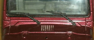 1/18 Scale Jeep Wrangler Windshield Wiper Set (plastic) Model Replacement Parts