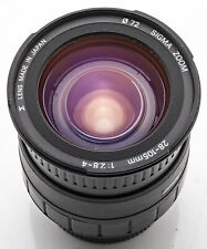Sigma Zoom 28-105mm 28-105 mm 1:2.8-4 2.8-4  Aspherical - Pentax PK
