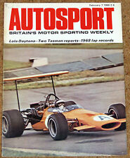 Autosport February 7th 1969 *Triumph 2.5 Pi Road Test & Daytona 24 Hours*