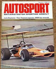 Autosport February 7th 1969 *Triumph 2.5 Pi Road Test & Daytona 24 Hours*