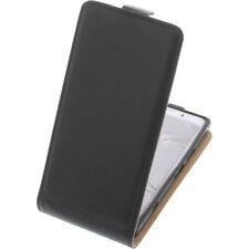 BOLSA para Sony Xperia XZ1 COMPACT tipo Flip Funda protectora con tapa negro