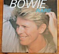 David Bowie Rare RCA '82 Green Label PL45406 LP 33RPM Ex Italy Import Ed