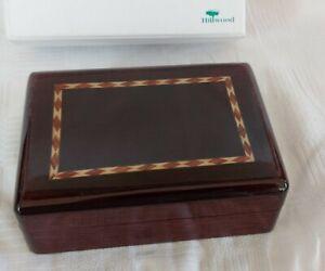 Hillwood London Wooden Jewellery/Ring Box