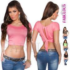 Polyester Cap Sleeve Unbranded Regular Tops & Blouses for Women