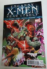 Uncanny X-Men #541 Fear Itself  Greg Land Art  Marvel  2011 1st Print  VF