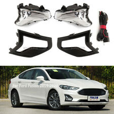 LED Fog Light Cover Harness For Ford Fusion 2019 2020 Front Bumper Driving Lamp