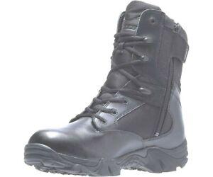 LADIES BATES GX-8 SIDE ZIP GORE-TEX Waterproof Leather Boots BLACK Ladies 5-10