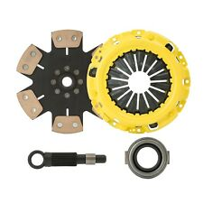 CLUTCHXPERTS STAGE 4 CLUTCH KIT SET fits 88-91 CIVIC EF9 CRX EF8 SIR B16A CABLE