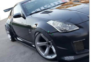Rims Tuning 2x Wheel Thread Mudguard Widening Black 74cm For Honda Jazz II