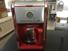 Bella Red 12 Cup Programable Coffee Maker