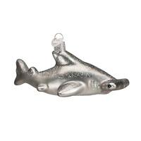 """Hammerhead Shark"" (12426)X Old World Christmas Glass Ornament"