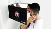 Miroir 360° - Self Cut Mirror - Miroir 3 faces pliable avec crochets adaptable