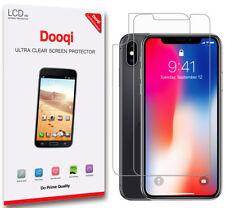 Dooqi For Apple iPhone X / XS 3 Front + 3 Back Matte Anti Glare Screen Protector