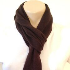 Brown Hand Knitted 100% Pashmina Cashmere Shawl Stole Scarf Neck Wrap Muffler