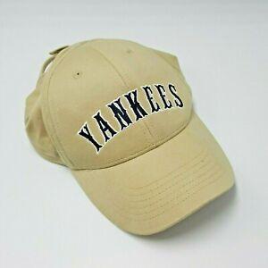 New York Yankees Toddler Baseball Hat Cap Nike Cotton Tan Khaki Beige