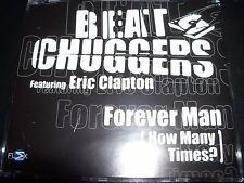 Beat Chuggers Ft Eric Clapton Forever Man (How Many Times) Aust CD Single - New