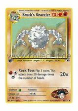 Pokemon Gym Heroes 40/132 - Brock's Graveler (Uncommon) Englisch