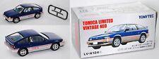 TOMICA LIMITED / TOMYTEC LV-N124c Honda Ballade Sports CR-X 1.5i blau/silbe 1:64