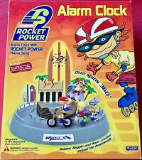 Nickelodeon Rocket Power Animated Alarm Clock ~ New In Box ~ Scarce