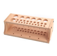 Craftool Wood Tool Stamp Stand Wax thread Rack Leather Holder Diy Craft