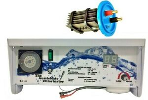 Autochlor Retrofit replacement AC15amp SaltWater Chlorinator & Cell Aussiemate