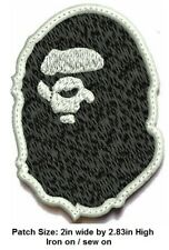 *Love It Or Its Free* Bape Ape Never kill Iron-on/sew on Patch