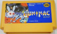 Gunnac Nintendo Famicom FC Tonkin House Cartrage Only Used Japan NTSC-J F/S
