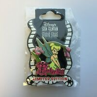 DSF - Tinker Bell with Name and Pink Flowers - Surprise LE 300 Disney Pin 79822