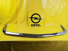 Opel GT A-L 1,9 vorne Chrom Stoßstange Bumper Stpßfänger