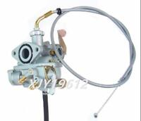 Carburetor W/ Throttle Cable for Honda CT70 Trail 1969-1977 K0 K1 K2 K3