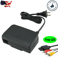 Replacement AC Power Supply Adapter Cord Charger for Nintendo 64 N64 w/Free Gift