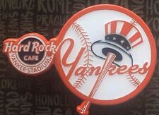 2017 Hard Rock Cafe New York Yankee Stadium Classic Baseball Logo Design Pin