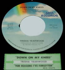 Trisha Yearwood 45 Down On My Knees / For Reasons I've Forgotten
