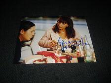 Ariane Ascaride signed autographe sur 20x27 cm photo inperson Look