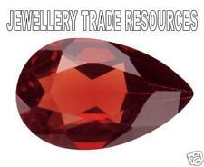 Natural Rich Red Garnet Pear Cut 6x4mm Gem Gemstone