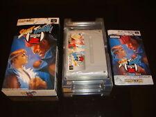 Street Fighter Zero 2 Nintendo Super Famicom Japan